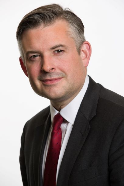 Jonathan Ashworth MP, Shadow Secretary of State for Health and Social Care