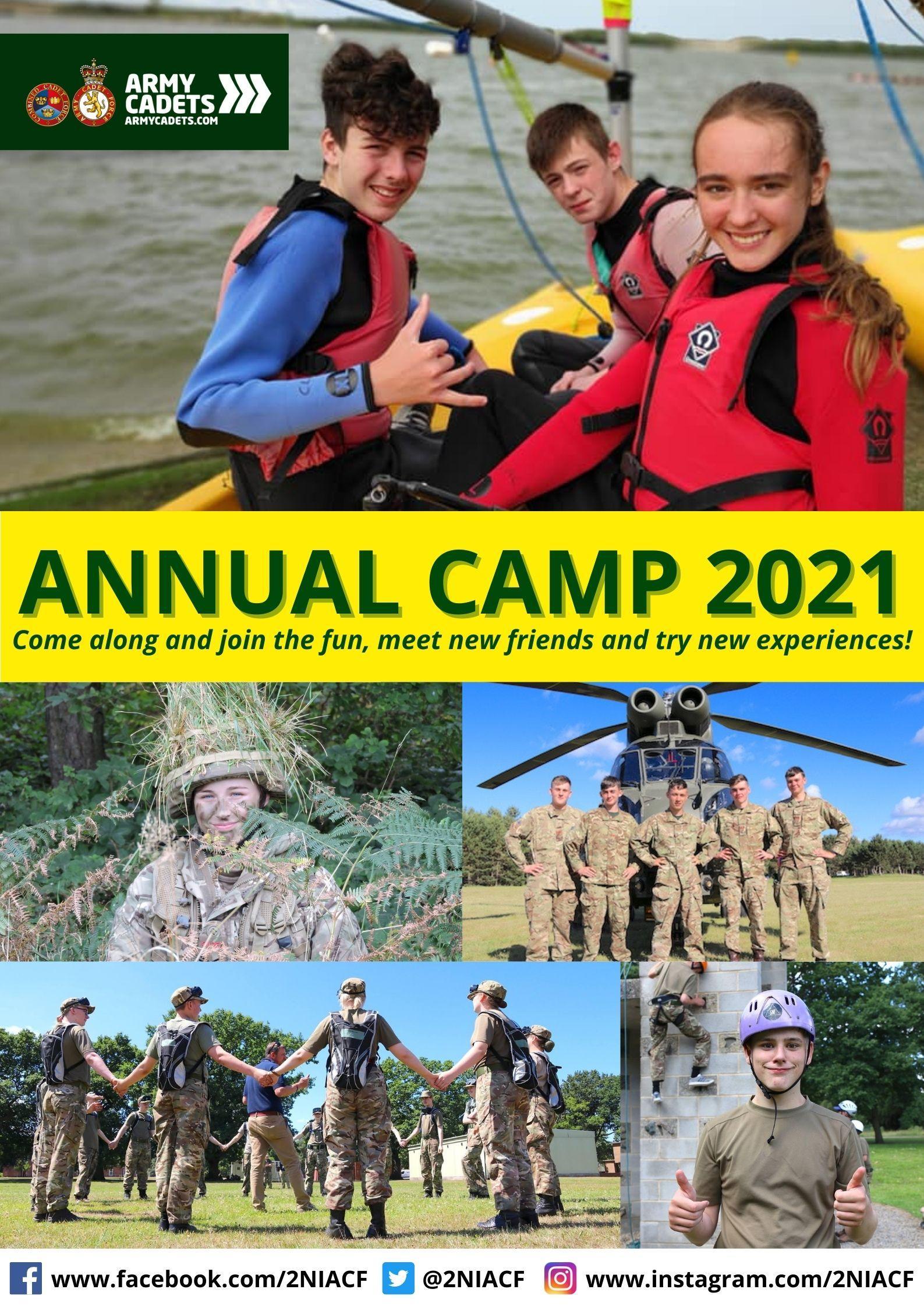 Annual Camp 2021