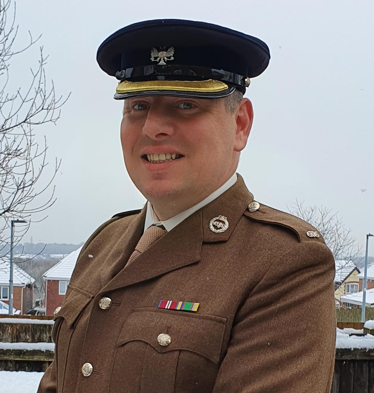 Sergeant Major Instructor Barrie Reid