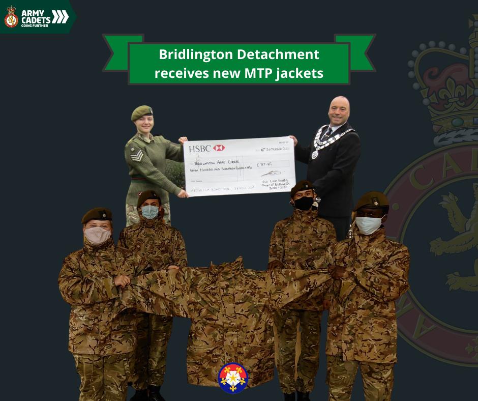 Bridlington Detachment Receives new MTP Jackets