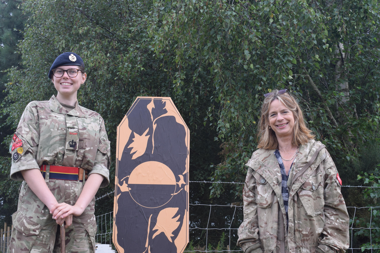L-r LL Cadet and Lady Colgrain