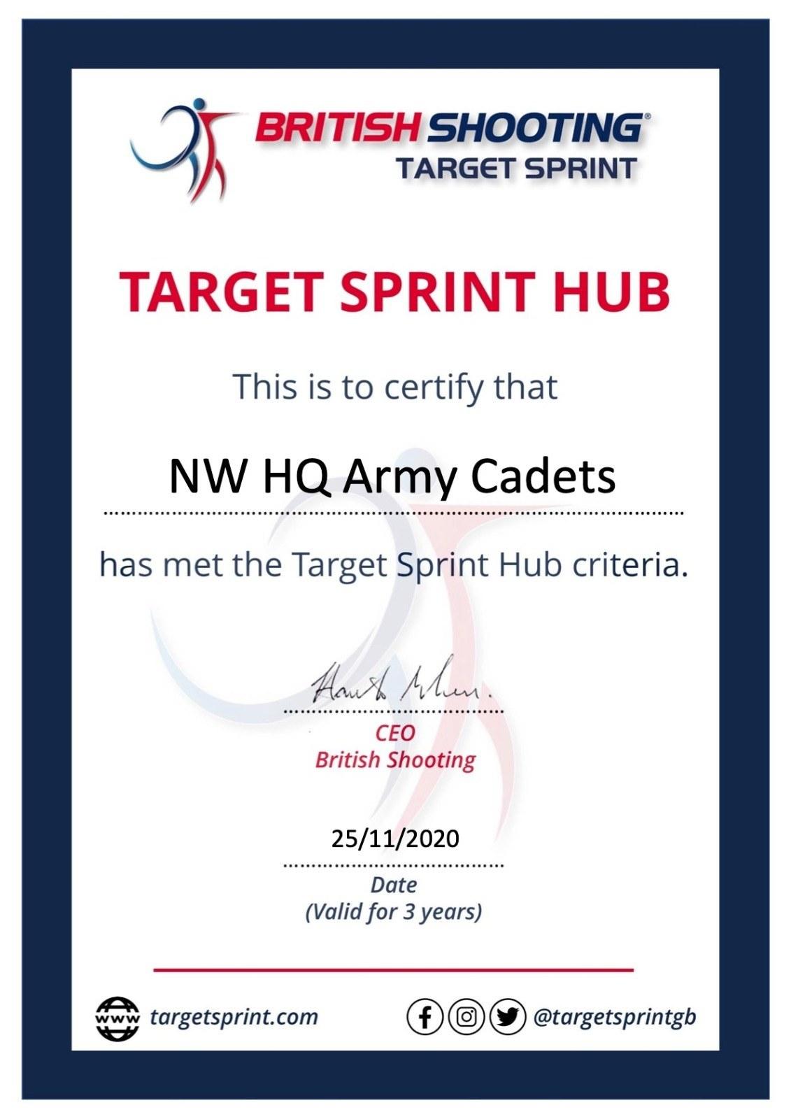 Target Sprint