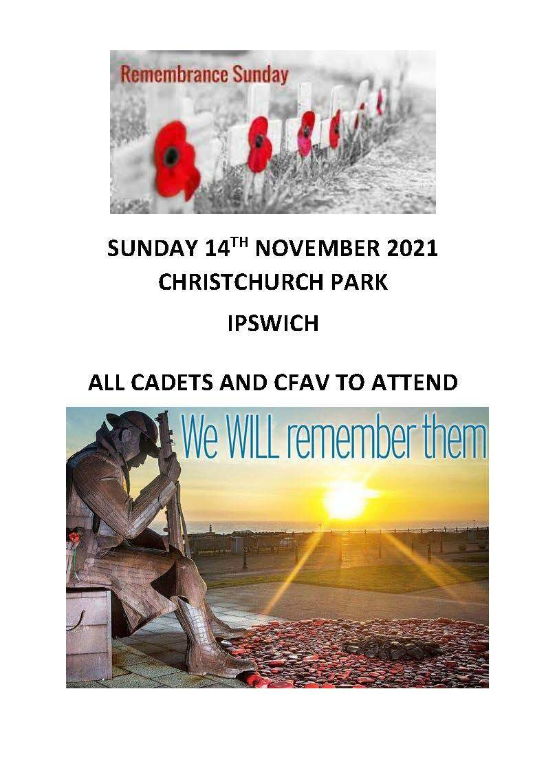 Ipswich Remembrance Day Parade Poster