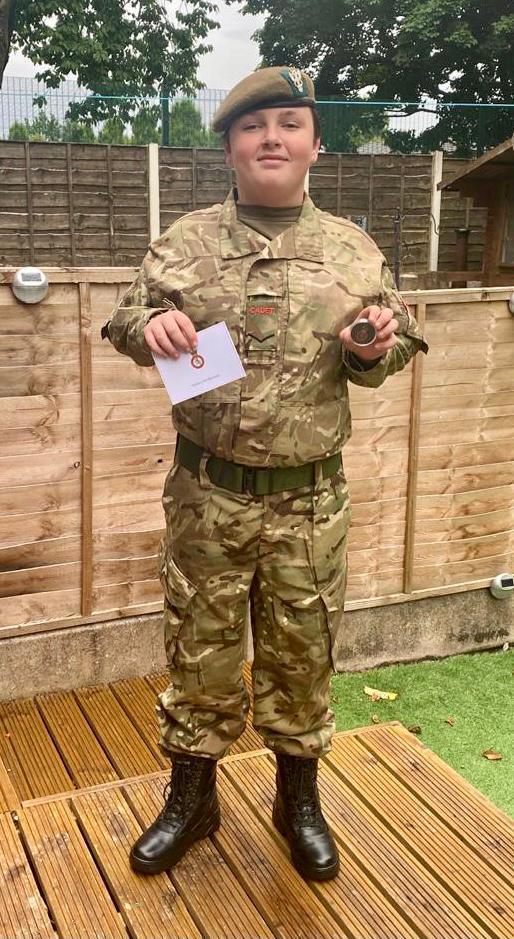 Cadet LCpl Ellis Whitehead