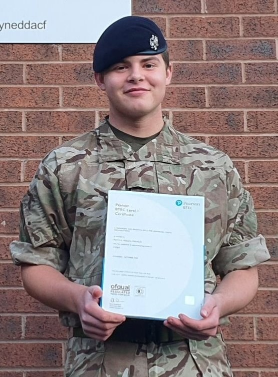 Cadet Lance Corporal Matteo Franco