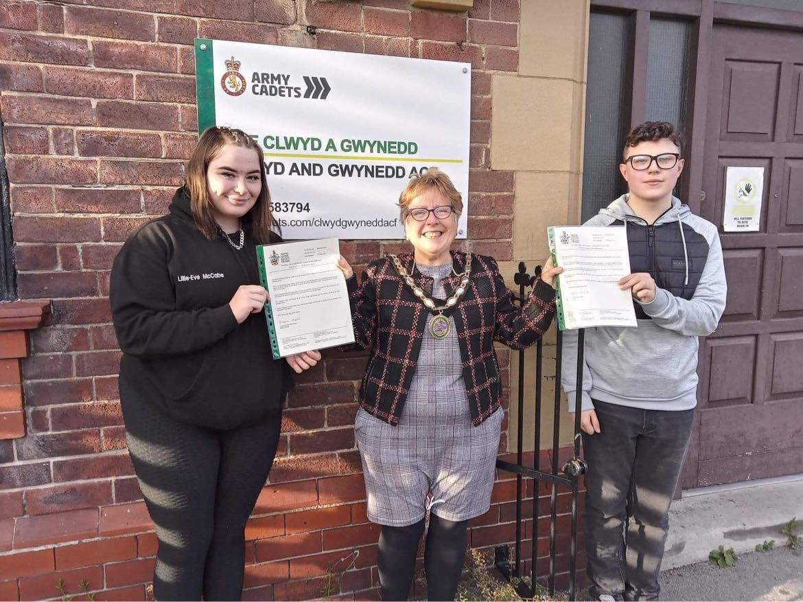 Rhyl cadets bow out from civic duties.