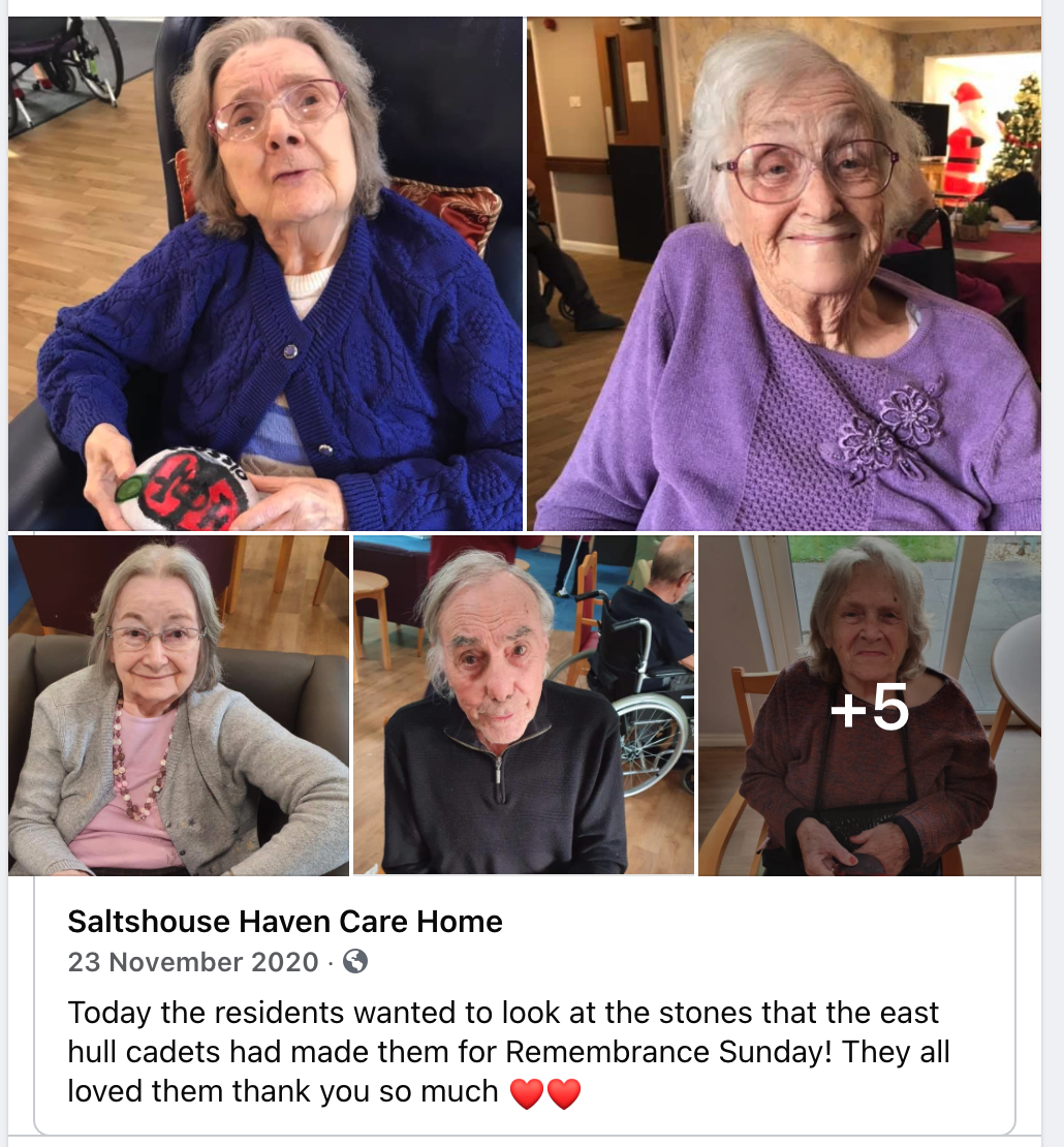 Saltshouse Haven Care Home - Remembrance Sunday