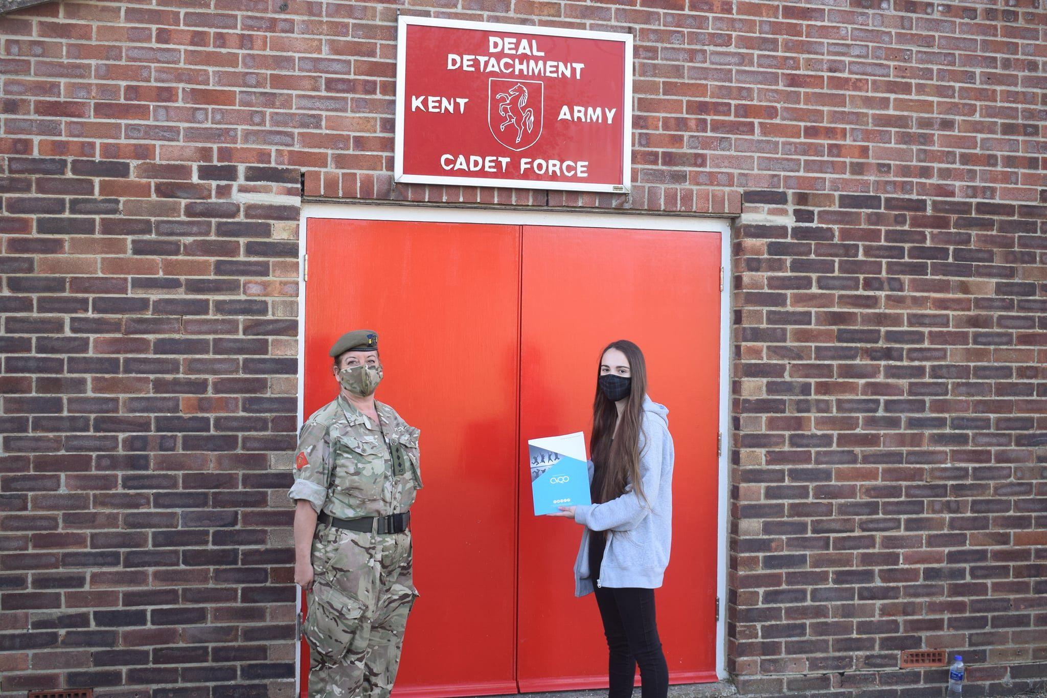 Renee receiving her CVQO certificate