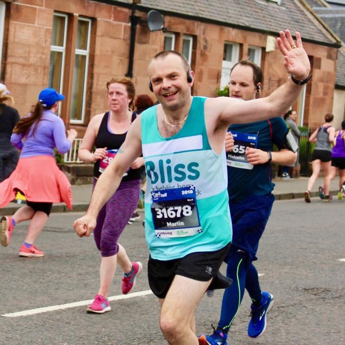 EMF male runner