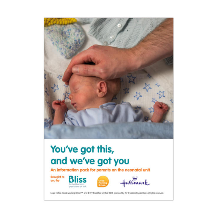 Front cover of the info pack