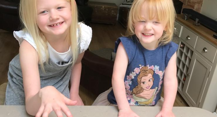 Older Sister Yvie Age Seven And Nancy
