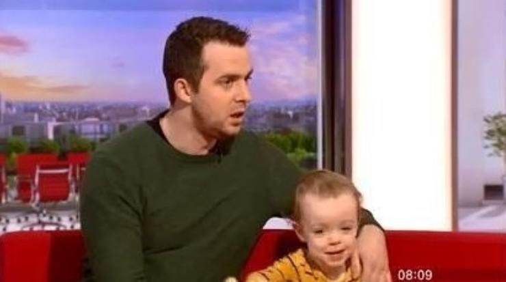 James shared his story on BBC Breakfast