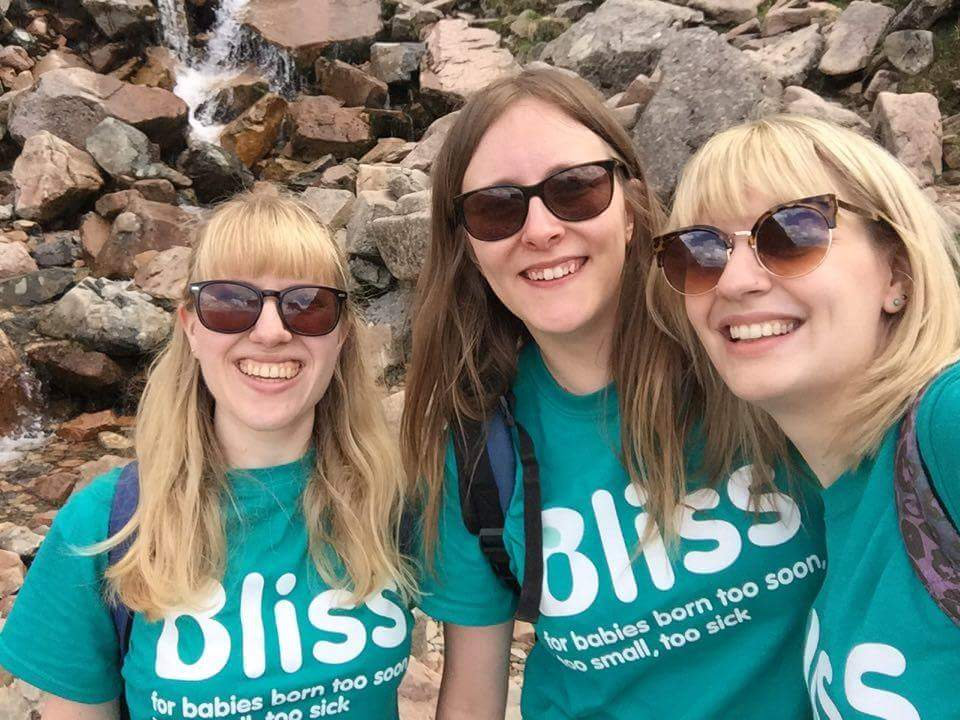 Selfie of 3 walkers