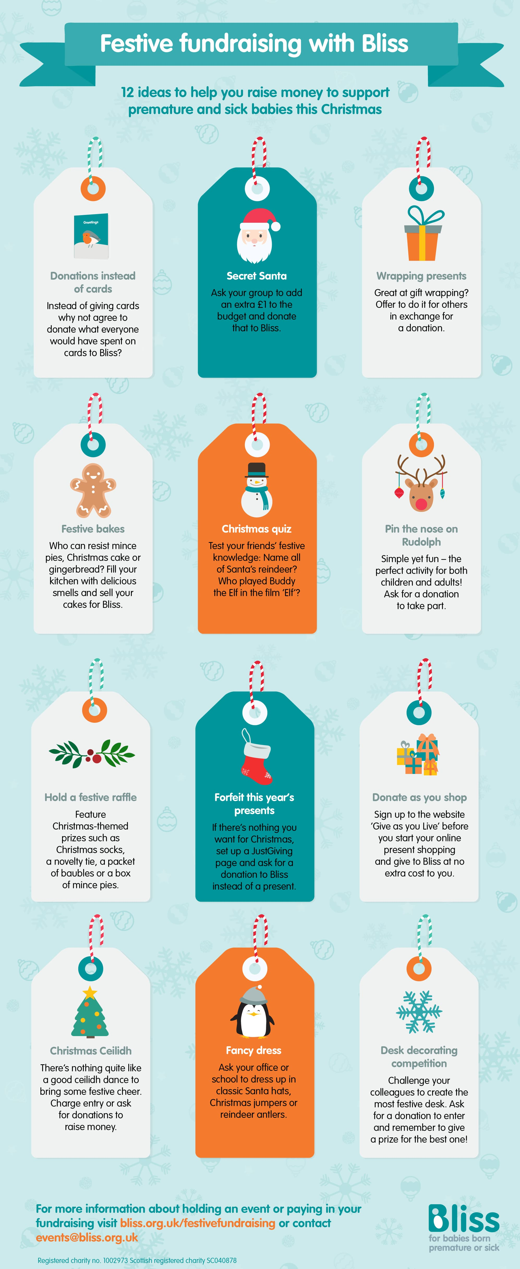 Christmas Fundraising Ideas.Festive Fundraising Bliss