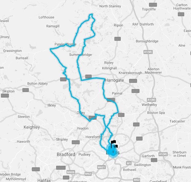 Tour De Yorkshire Long Route