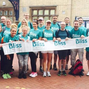 Group of Bliss walkers