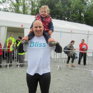 Swimmer in Bliss t-shirt