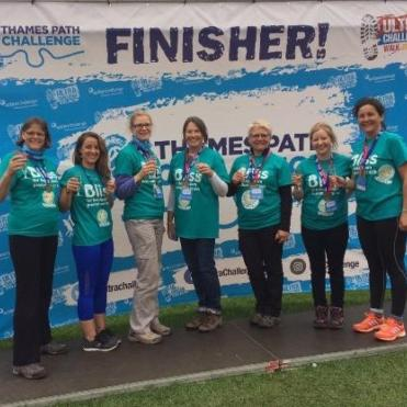 Finishers at the event