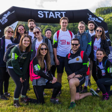 Group at the start line