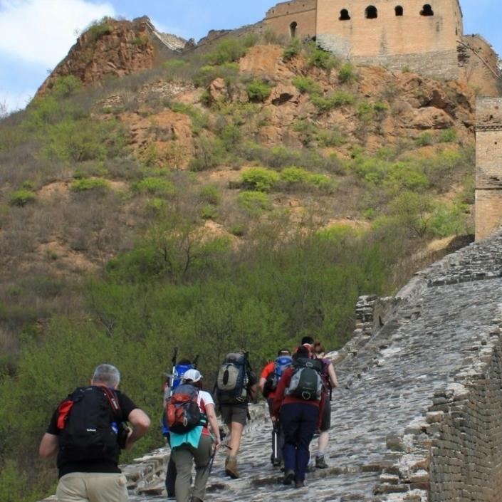 Walkers on the Great Wall