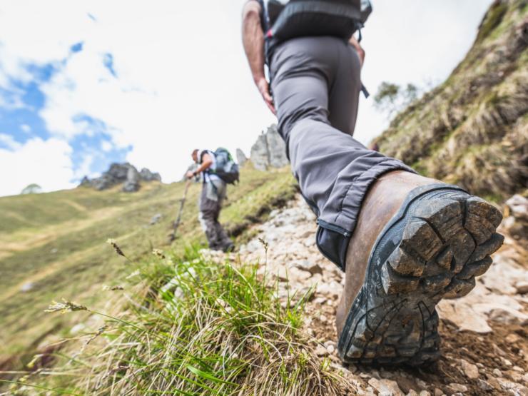 Walking boot photo