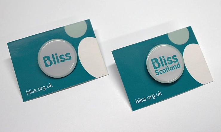 Bliss Pin Badge New