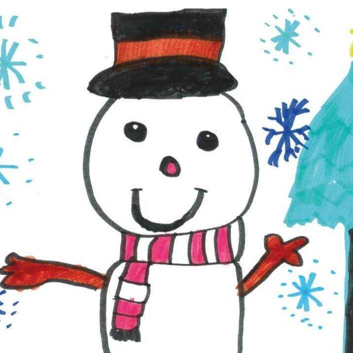 Bliss Christmas Card