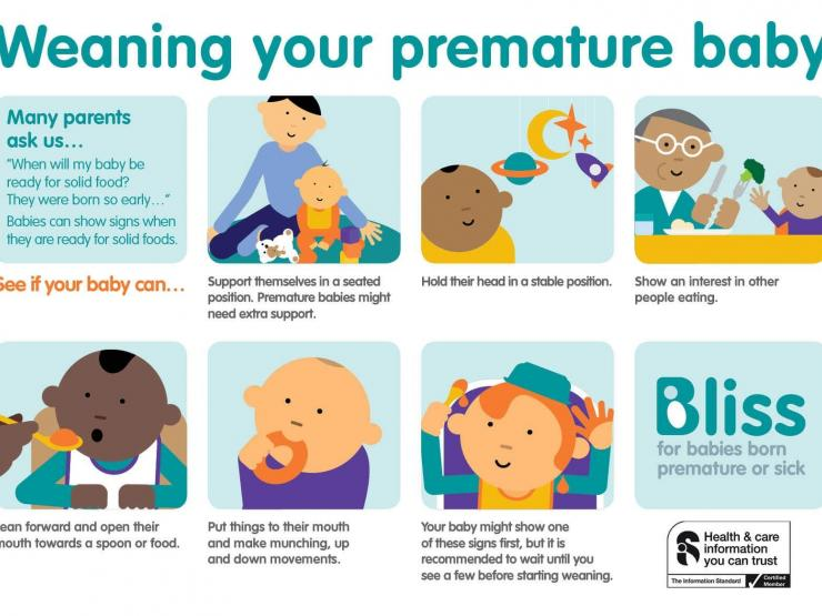 Weaning Info Card