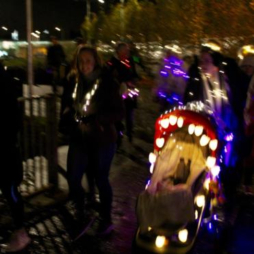Pram at Little Lights walk