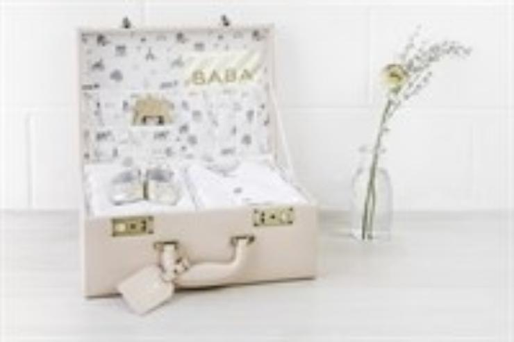 Meminio Memory Case with baby shoes