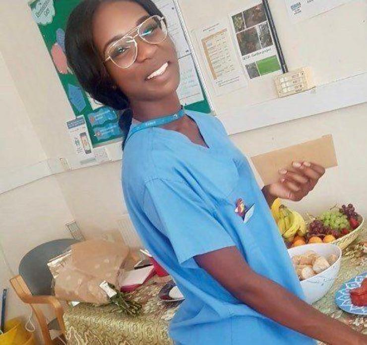 neonatal nurse at hospital