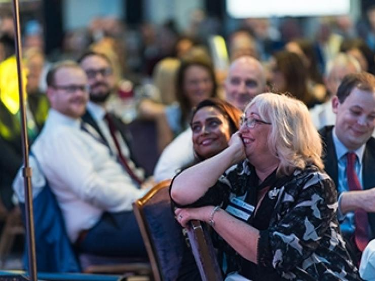 NHA ceremony audience
