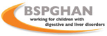 Logo: BSPGHAN (British Society of Paediatric Gastroenterology, Hepatology and Nutrition)