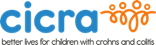 Logo: CICRA (Crohns in Childhood Research Association)