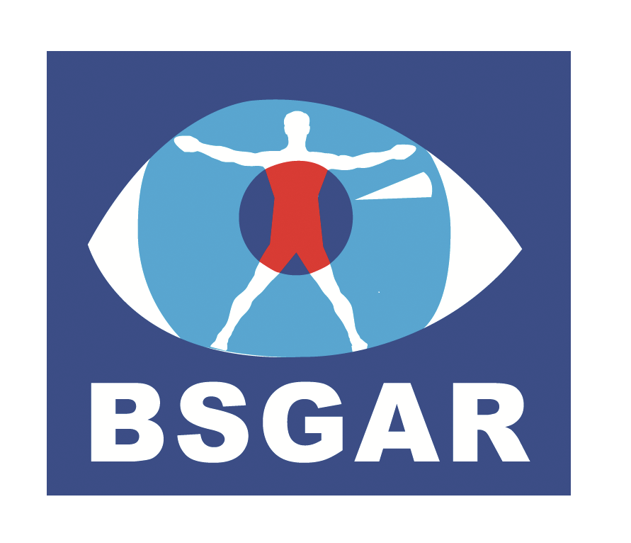 Logo: BSGAR (British Society of Gastrointestinal and Abdominal Radiology)