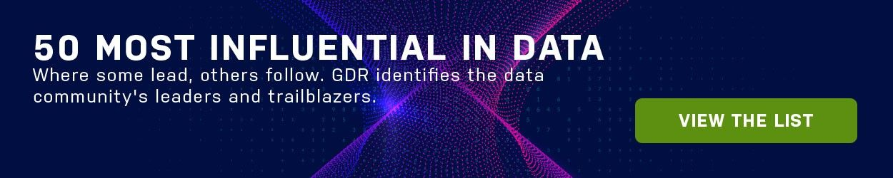 GDR - 50 Most Infuential In Data