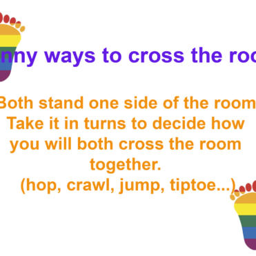 Funny Ways To Cross The Room