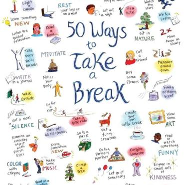 07 50 Ways To Take A Break Illus Info 07