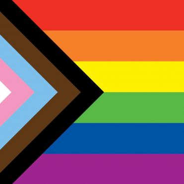 Ig size progress flag for lgbt webpage