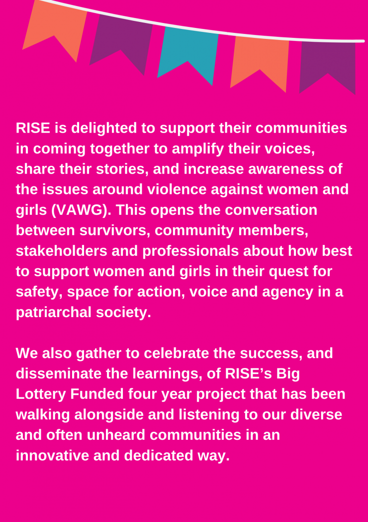 Communities Rising Conference RISE rooted in your community Wednesday 29th September 11 30am 3 30pm and 5pm 8pm Friends Meeting House Ship Lane Brighton BN1 1 AF 1
