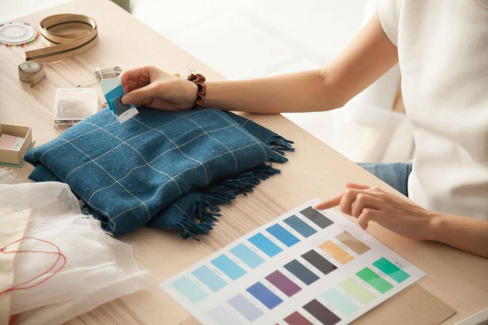 bill of materials fabric colours order