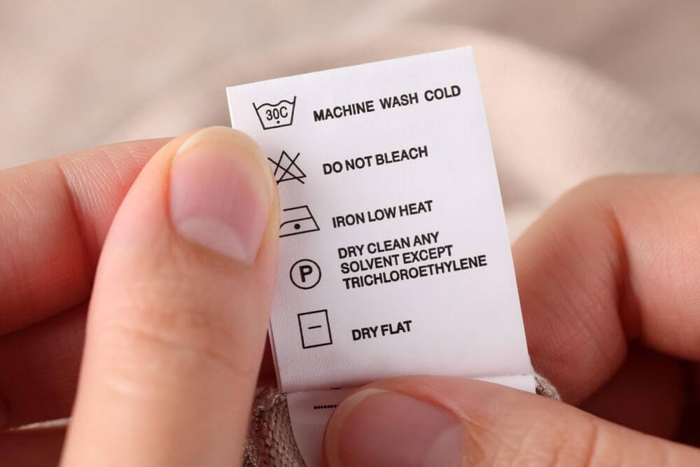 Garment Labelling Requirements for Clothing (Full Guide) | Sewport