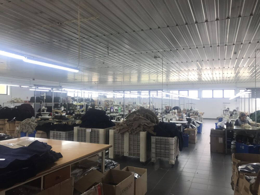 local clothing manufacturer