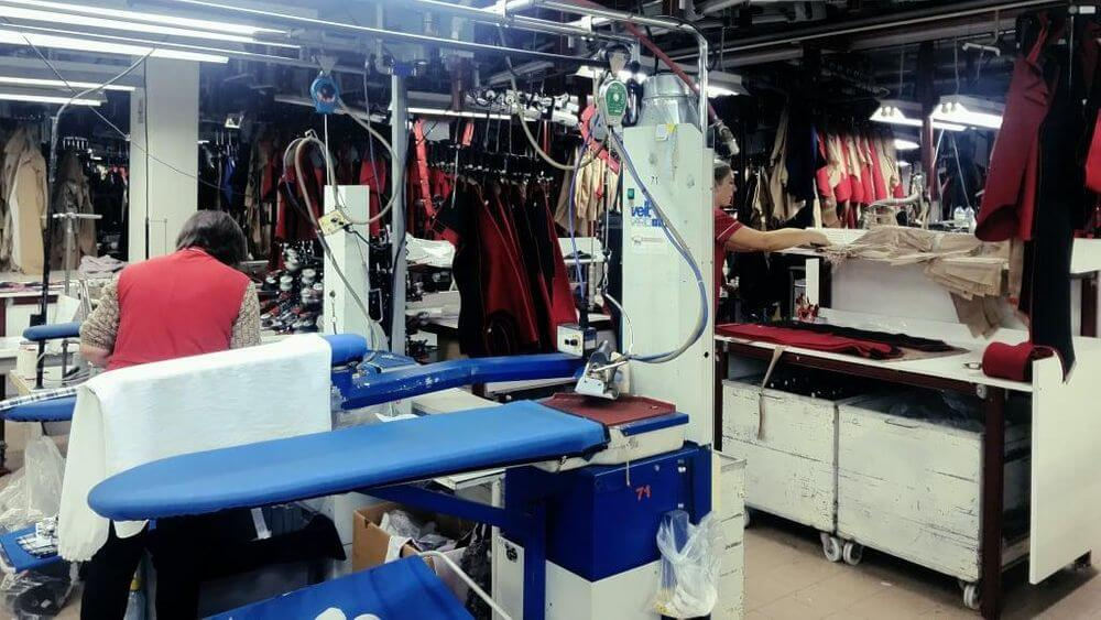 garment factory quality control unit