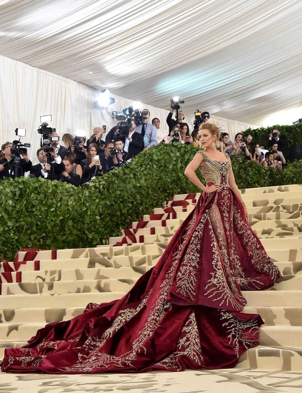 Blake Lively 2018 Met Gala Dress Getty Images