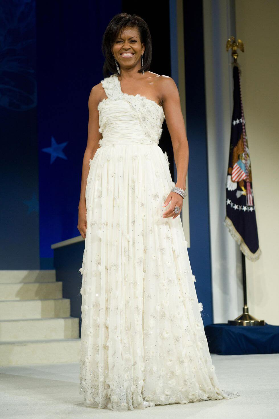 Michelle Obama Inaugural Ball Dress Getty Images