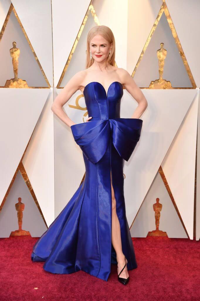 Nicole Kidman 2018 Oscars Dress Getty Images