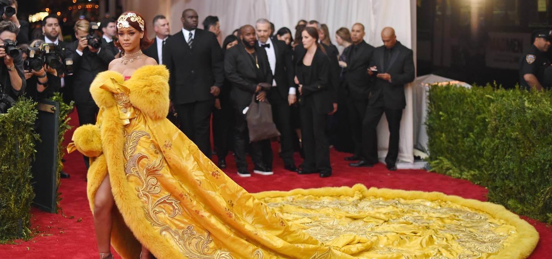 Rhianna Met Gala 2015 Getty Images