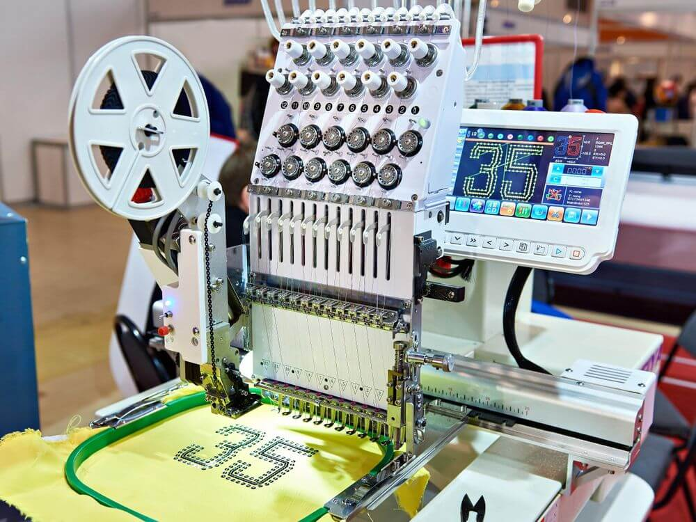 clothing embroidery machine