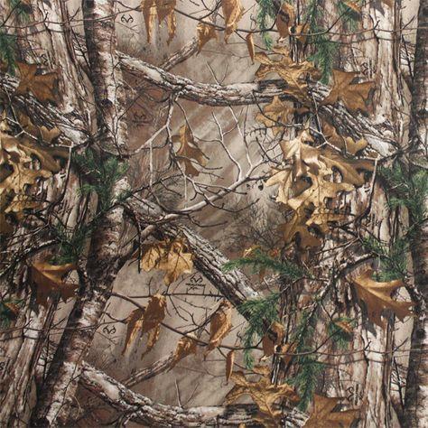 Realtree Xtra Cotton Twill Camo Fabric